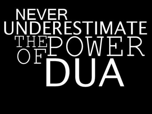 SIX MEANINGS OF THE WORD DU'A