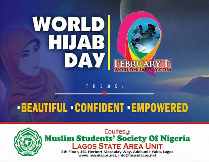 MSSN Lagos mobilises 10,000 females for World Hijab Day